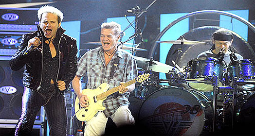 vanhalen_reunion_concert New Van Halen Album Incoming?