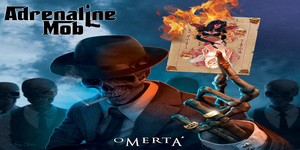 adrenalinemob omerta cover Adrenaline Mob   Omerta Review