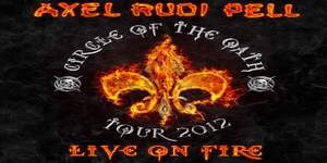 axelrudipell_liveonfire_cover Axel Rudi Pell - Live On Fire Review