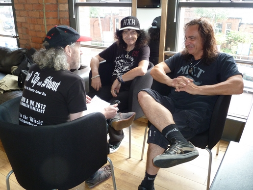 appice baine interview pic 1 Exclusive Interview with Vinny Appice (Drums), Jimmy Bain (Bass) Last in Line