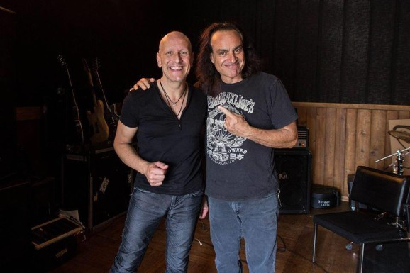 appice_baine_interview-pic-3-e1377050004968 Exclusive Interview with Vinny Appice (Drums), Jimmy Bain (Bass) Last in Line