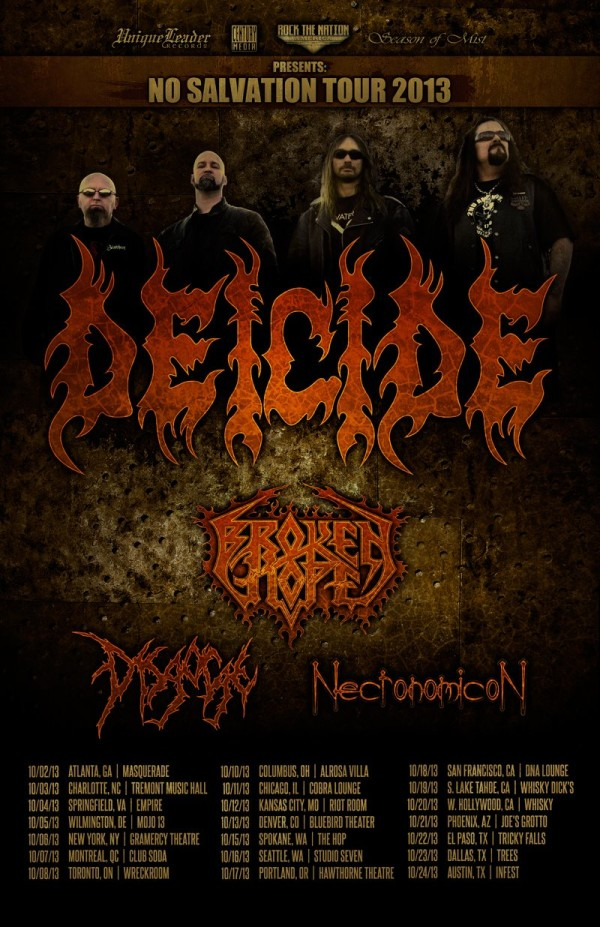 Deicide Tour  Kansas City M O