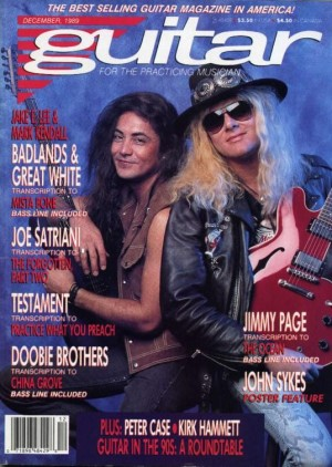Mark Jake Guitat cover e1403911201199 Interview with Mark Kendall (Guitar) (Great White)