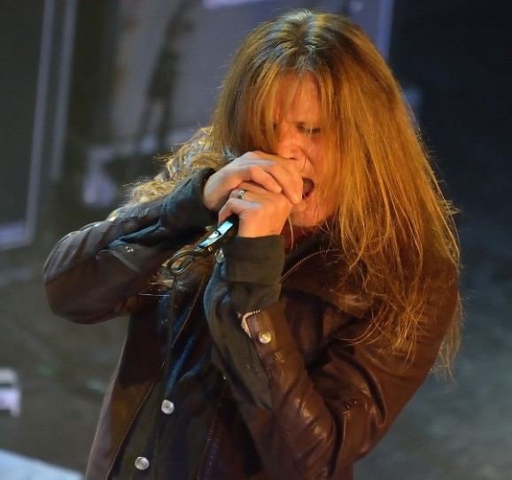 Sebastian Bach live at O2 Academy, Islington London 9 July 2014