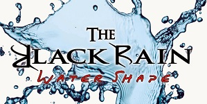 Black Rain Water Shape