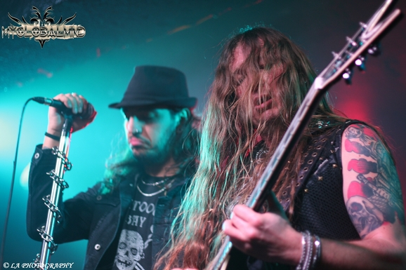 ARTHEMIS-2 Gus G Live at the Academy 3, Manchester on February 21st, 2015