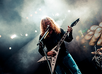 Megadeth Live at 3 Arena, Dublin on November 9th, 2015
