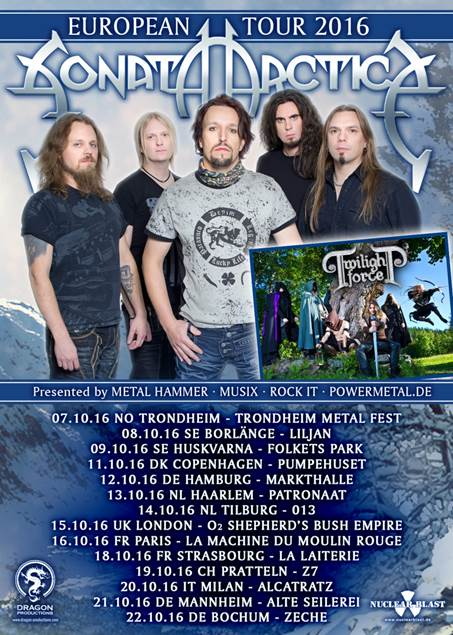 image006-2 SONATA ARCTICA Working on new album; announce London show