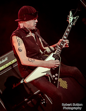 Michael Schenker Temple of Rock live at Islington Assembly Halls, London on January 30th, 2016