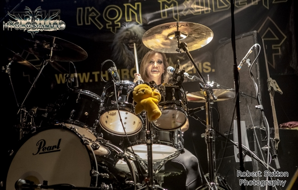 TheIronMaidens_2 The Iron Maidens live at O2 Academy Islington, London on April 14th, 2016