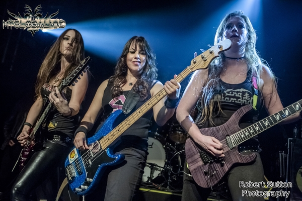 TheIronMaidens_4 The Iron Maidens live at O2 Academy Islington, London on April 14th, 2016