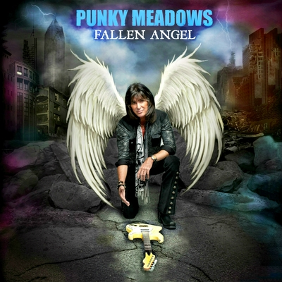 "PUNKY-MEADOWS-album-cover Interview with Punky Meadows (Guitars) former (Angel), on his return to the scene and why ""Every Song Kicks Ass on New CD Fallen Angel!"""