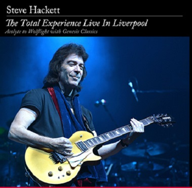 LiveInLiverpoolDVDcover STEVE HACKETT – THE TOTAL EXPERIENCE LIVE IN LIVERPOOL  CD & DVD review