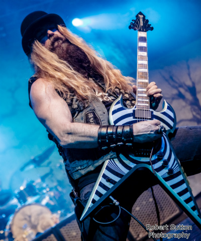 Zakk Wylde live at O2 Forum, Kentish Town, London on May 25th, 2016