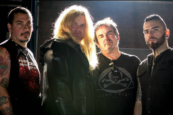Reaper-Article-Framed STEVE GRIMMETT'S GRIM REAPER ALBUM RELEASE SHOW IN LONDON .
