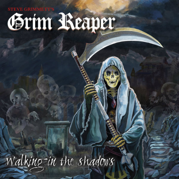 Steve-Grimmetts-Album-Article-Framed STEVE GRIMMETT'S GRIM REAPER ALBUM RELEASE SHOW IN LONDON .