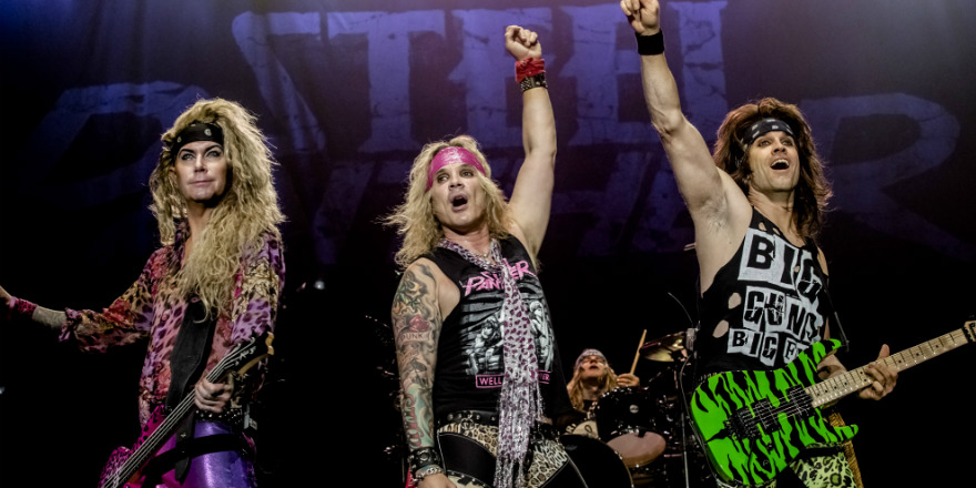 Steel Panther European Tour