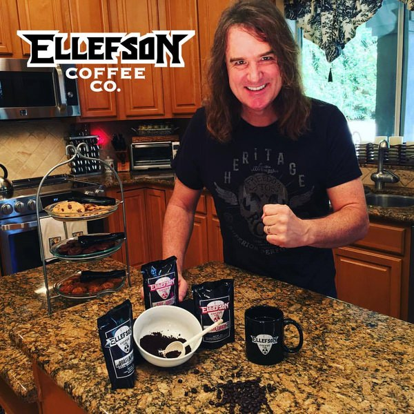 Ellefson-Coffee David Ellefson of Megadeth – Opening Coffee Shop is Synonymous with the Creative Musician Lifestyle!