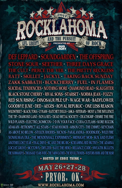 unnamed-min Rocklahoma 2017:  Def Leppard, Soundgarden And The Offspring Headline A Weekend Filled With Performances From The Best Current Rock Artists And Classic Bands