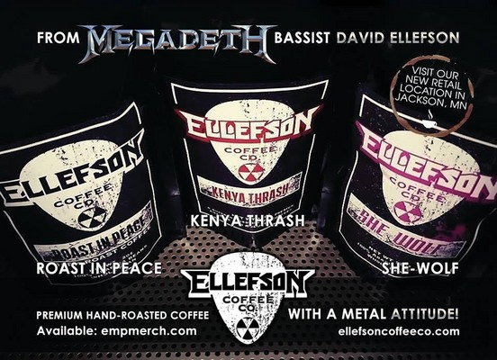 unnamed David Ellefson of Megadeth – Opening Coffee Shop is Synonymous with the Creative Musician Lifestyle!