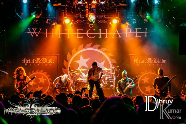 Whitechapel-12 Metal Blade's 35th Anniversary Tour w/ Whitechapel at Irving Plaza in New York, New York on February 25th, 2017