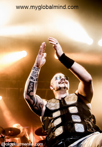 Sabaton & Accept, Vicar Street, Dublin, January 10th 2017