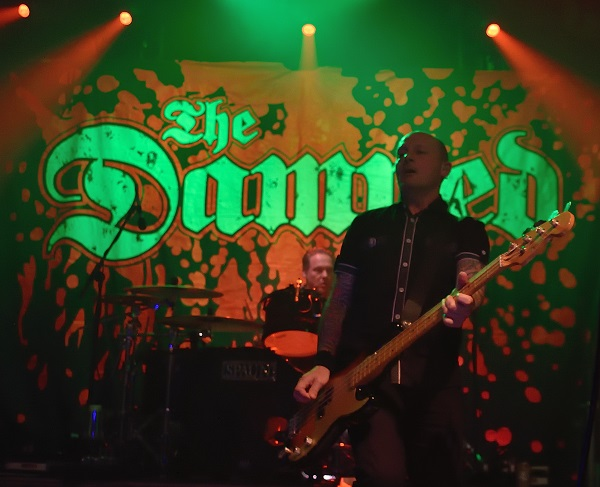 """The-Damned_small """"We're playing with some new young upstarts"""" Dave Vanian, singer with British Punk legends, The Damned on playing with Green Day at BST."""