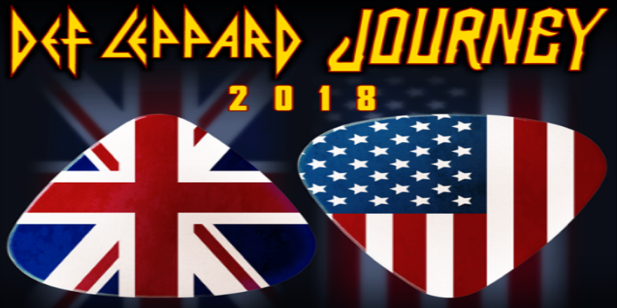 346984a985f JOURNEY   DEF LEPPARD ANNOUNCE NEW DETAILS FOR COLOSSAL CO-HEADLINING NORTH  AMERICAN TOUR