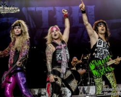 2717439090 Steel Panther live at The SSE Arena Wembley, London  – 15th October 2016
