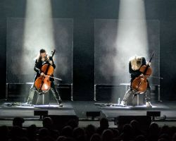 1566762445 Apocalyptica at Bridgewater Hall, Manchester, UK on 27th February 2017