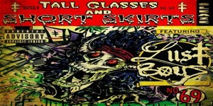 tall glasses short skirts cover