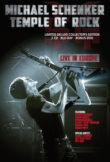 Michael SchenkerTemple Of Rock Live In Europe_cover