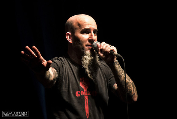 Scott Ian - Speaking Words Belfast Limelight 2- Friday 7 June 2013 pic 1