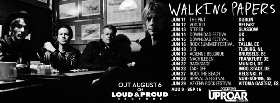 walking papers banner tour 2013