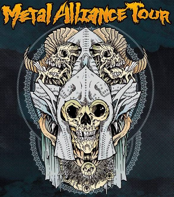 metal alliance tour 2014