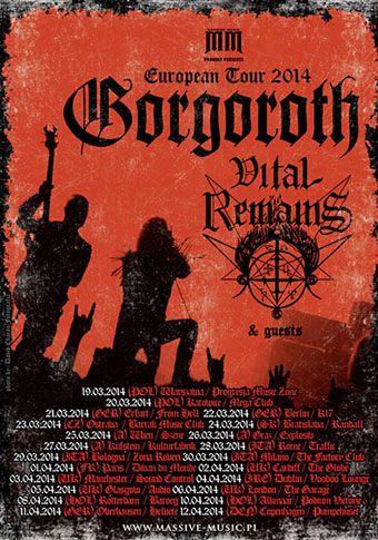 Gorgoroth live at The Garage, London UK on April 6th, 2014 ...