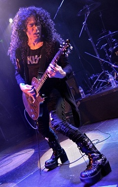 MF-Small1 Gus G and Marty Friedman live at the O2 Academy, Islington UK, 21 May 2014