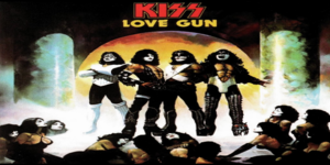 kiss love gun cover