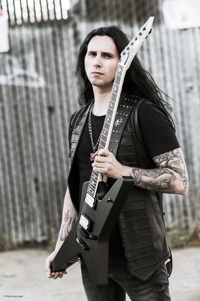 Promotional Photos for Gus G (Photo by Joe Lester)