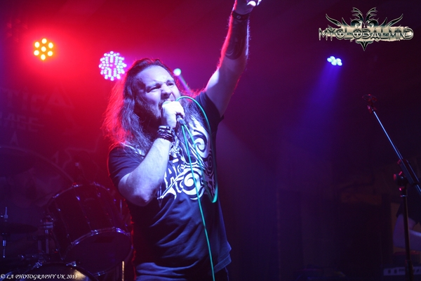 Dyorlich Attica Rage Live at Rebellion Bar Manchester, UK on October 23rd, 2015