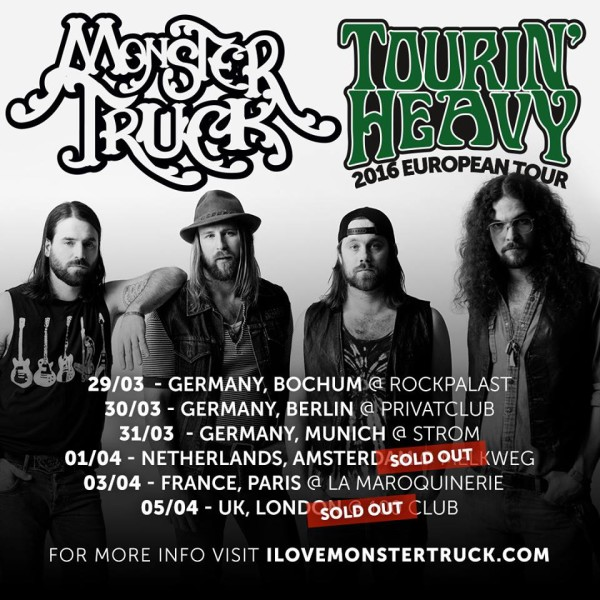 monster truck dates