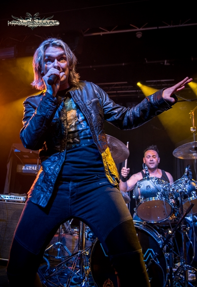 Vega-10 Magnum and Vega live at Rock City, Nottingham, UK on May 17th, 2016