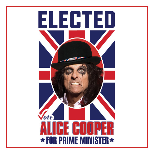 AliceCooper_Elected_UK Article Framed