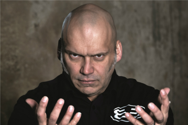 Robert Hucko Blaze Bayley Article Framed