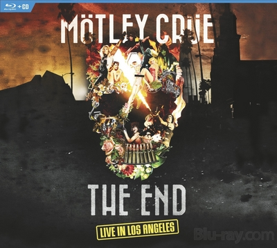 7575 Mötley Crüe: The End - Live In Los Angeles Blu Ray Review