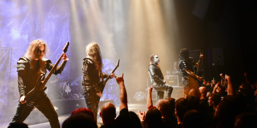 Dark Funeral and Krisiun, live at Gebr. de Nobel, Leiden, The Netherlands on November 3rd, 2016