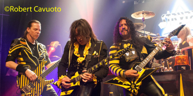 Stryper live at The Gramercy Theater in NYC, on November 20th, 2016