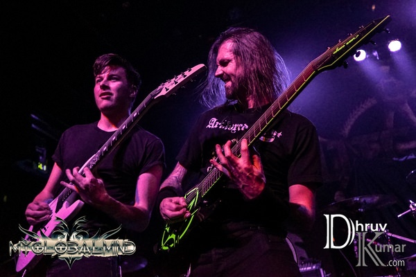 Allegaeon-10 Metal Blade's 35th Anniversary Tour w/ Whitechapel at Irving Plaza in New York, New York on February 25th, 2017