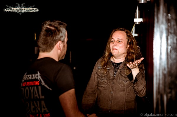 """Olga-Kuzmenko_IC2A2905 Sami Yli-Sirniö (Guitars) of Kreator --  """"When You Play Together With Somebody For A Long Time, A Kind Of Telepathic Musical Connection Does Occur"""""""