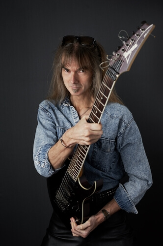 Arjen05withGuitar_highres_by-Lori-Linstruth Arjen Lucassen - Mastermind of the Rock Opera Ayreon - Do What's Really In Your Heart Because That's What You're Best At